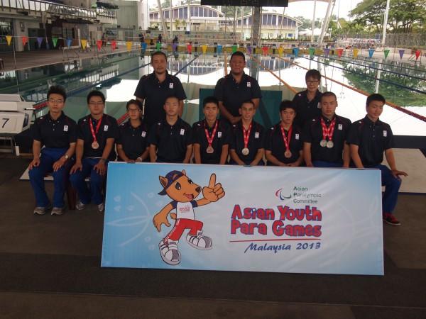 アジアユースパラ競技大会マレーシア2013